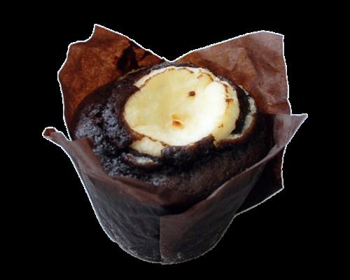 Muffin de Chocolate e Queijo Philadelphia 120gr